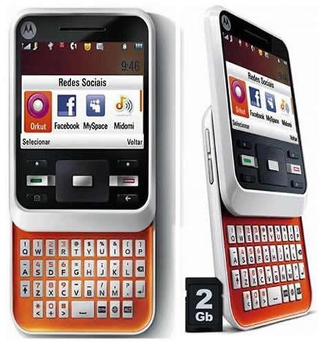 Motorola A45 Murano official as MOTOCUBO A45   GadgetFolder