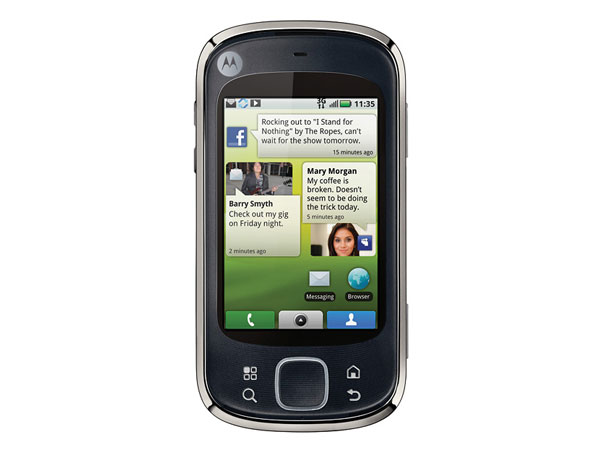 Motorola Quench Review   Smartphones PDA Phones