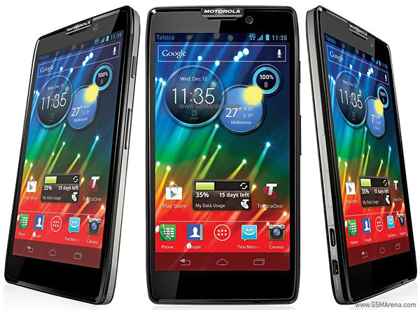 Motorola RAZR HD XT925 pictures  official photos