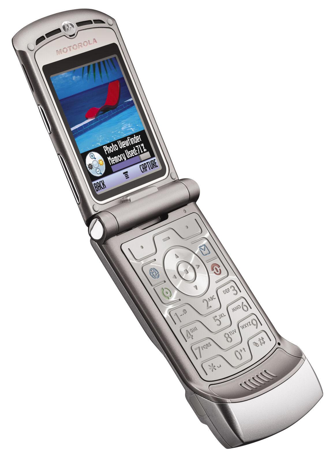 ProductWiki  Motorola RAZR V3   Cell Phones