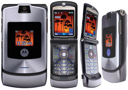 Motorolas RAZR V3i and V3c CDMA RAZR with EV