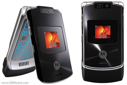 Motorola RAZR V3xx pictures  official photos