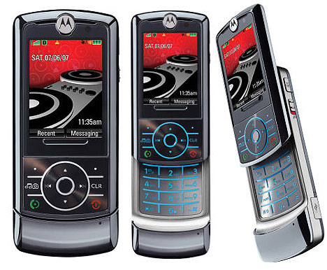 Motorola ROKR Z6 phone photo gallery  official photos