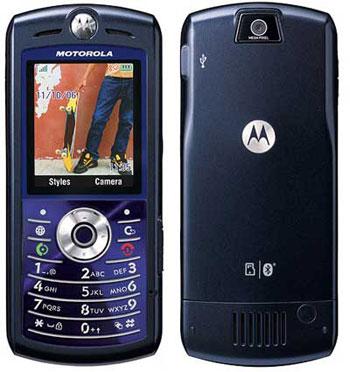 Motorola SLVR L7e phone photo gallery  official photos