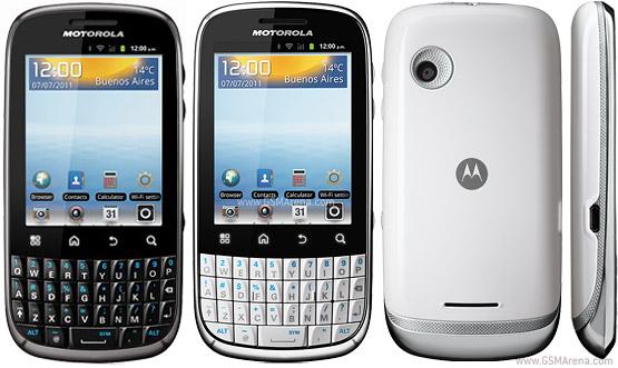 Motorola SPICE Key XT317 pictures  official photos