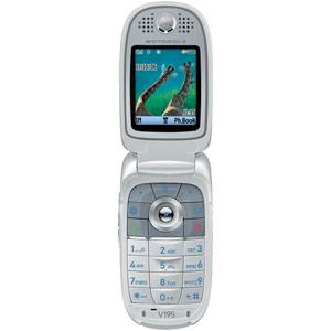 T Mobile Cell Phone   Motorola V195   Wirefly