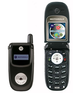 Motorola V220 Mobile Phone Unlocking in Mauritius