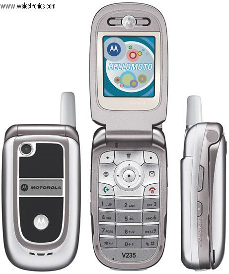 www welectronics com   Motorola V235 TRIBAND UNLOCKED GSM Special