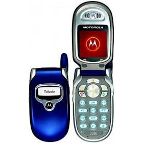 Motorola V290 phone photo gallery  official photos