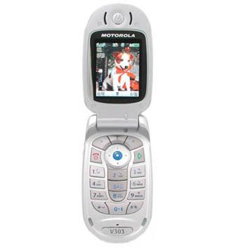Motorola V303 phone photo gallery  official photos