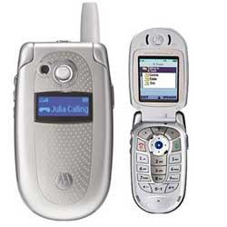 Used Motorola V400 Quad band Phone