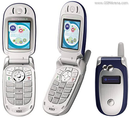 Motorola V555   Full phone specifications