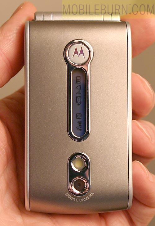 Motorola V690 Live Photo Gallery