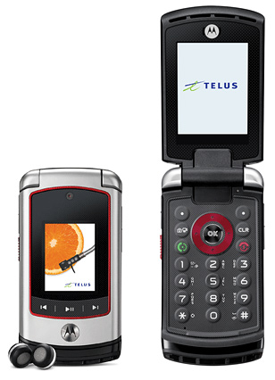 Motorolas rough and rugged V750 now available on Telus