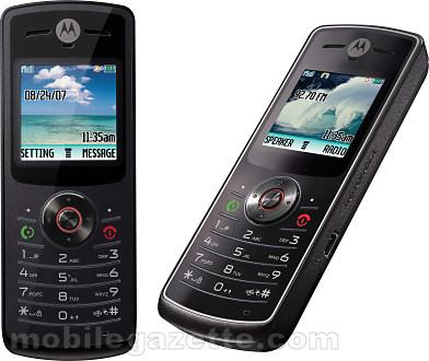 Motorola W156  W160  W175  W180  W206  W213   Mobile Gazette