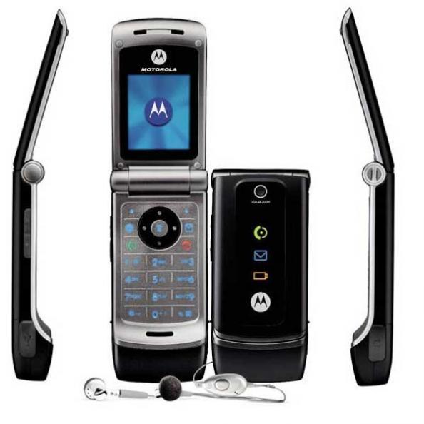 Im  genes de tel  fono celular   Motorola W375  Caracter  sticas y