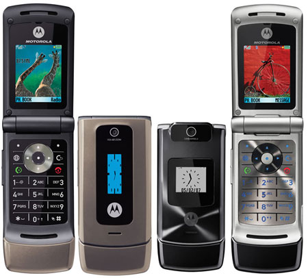 Motorola W380 phone photo gallery  official photos