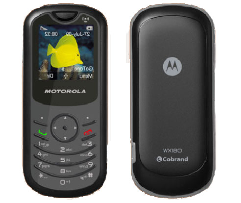 Motorola WX180  Full Mobile Phone Specifications
