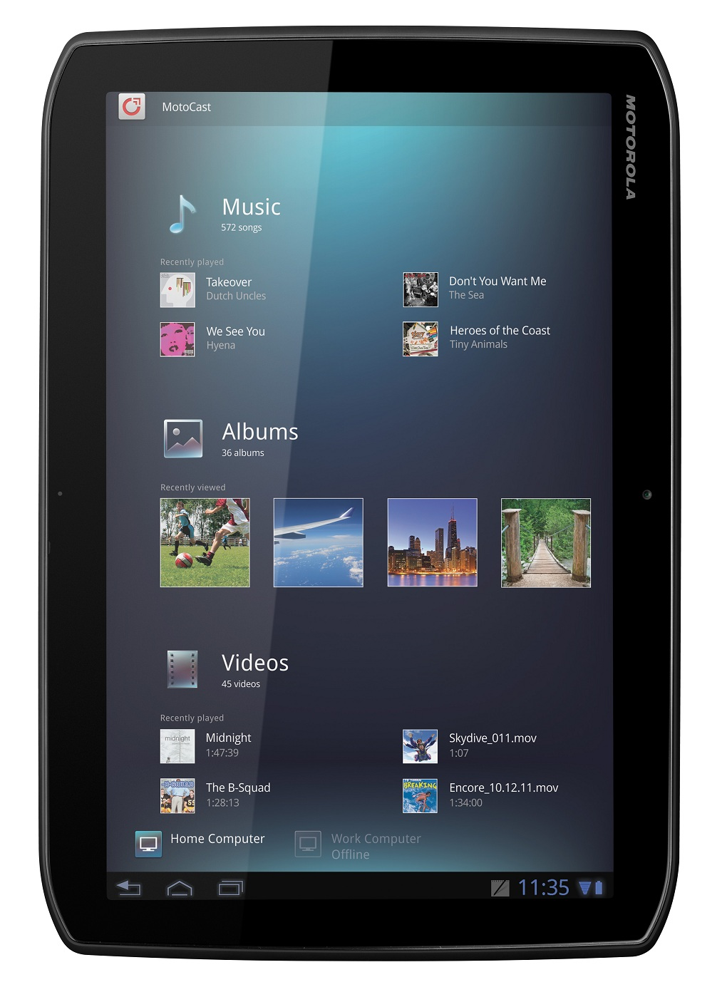 Motorola XOOM 2 3G MZ616   Compare Tablets Specifications and