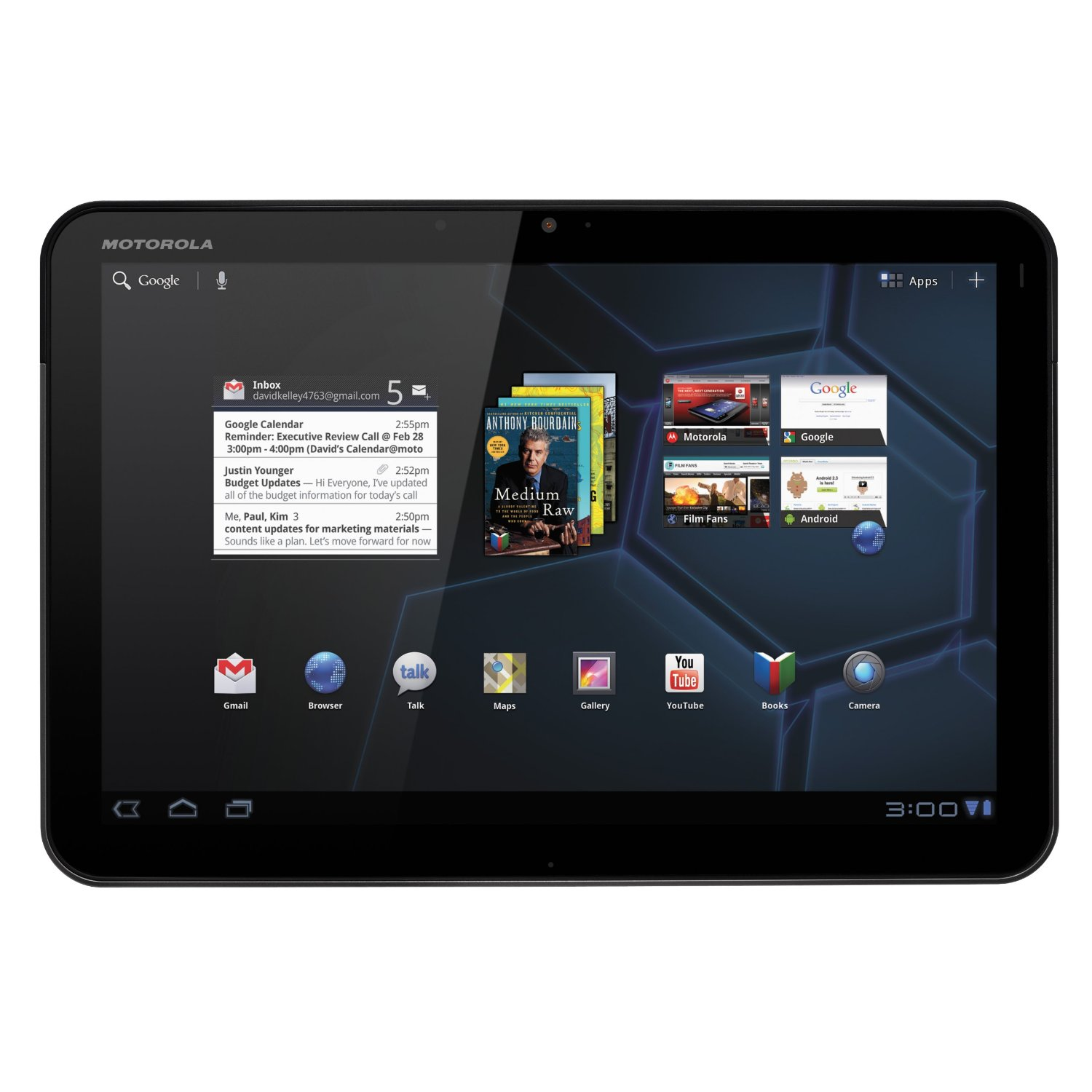 Motorola Xoom MZ604 32GB Wifi only   Tk  30 000