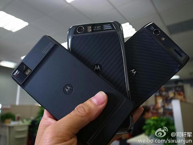 Motorola XT928 and MT917 surface  RAZR variants for the Chinese