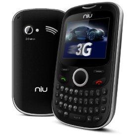 NIU Pana 3G TV N206 Unlocked GSM Phone with Dual SIM  QWERTY
