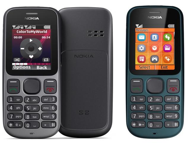 Nokia 100 and 101 Cheap Dual SIM phones announced