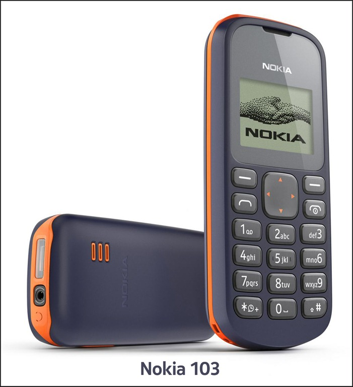 NOKIA 103 FOR EXCHANGE ONLY   Tk  1 300