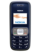 Nokia 1209   Full phone specifications