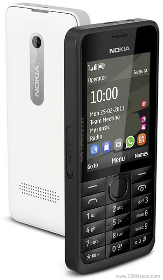 Nokia 301 pictures  official photos
