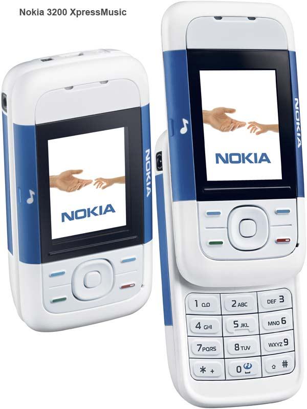 Nokia announces three new XpressMucis music handsets   Esato