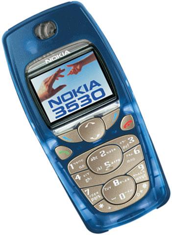 Nokia 3530 phone photo gallery  official photos