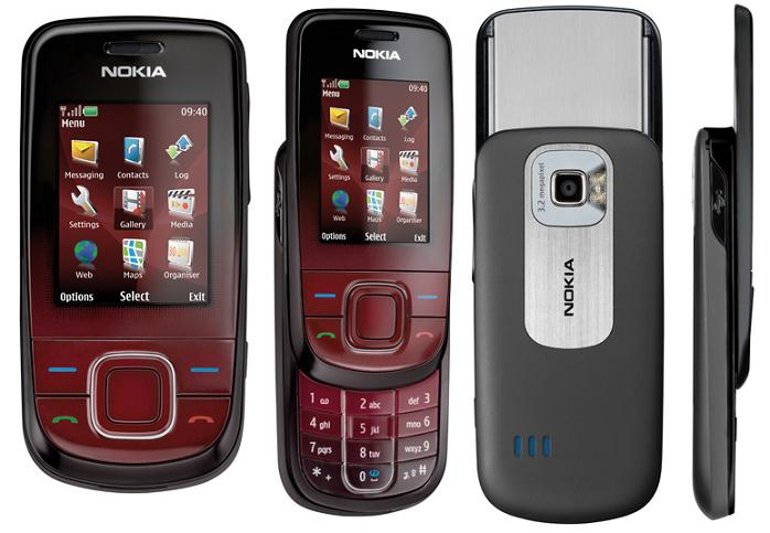 Nokia launches the Nokia 3600 slide mobile phone that balances
