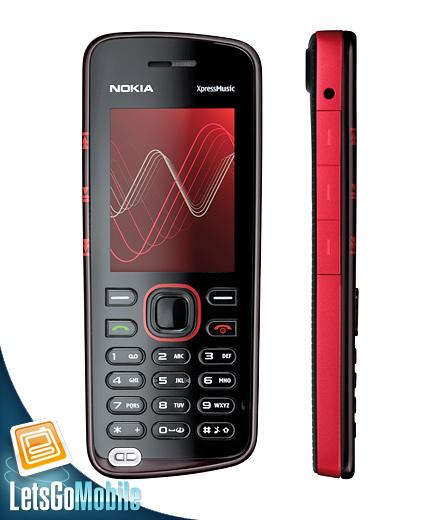 Nokia 5220 XpressMusic LetsGoMobile