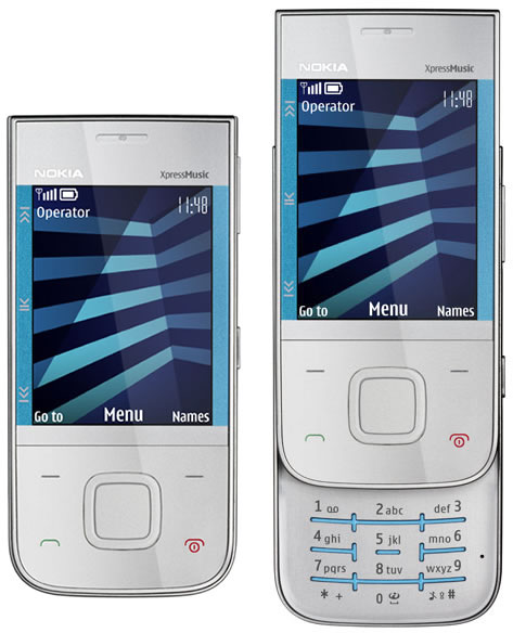 Nokia 5330 XpressMusic phone photo gallery  official photos