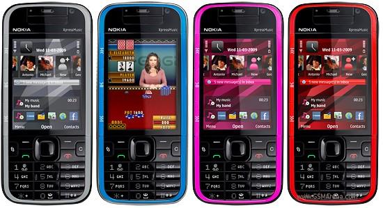 Nokia 5730 XpressMusic pictures  official photos