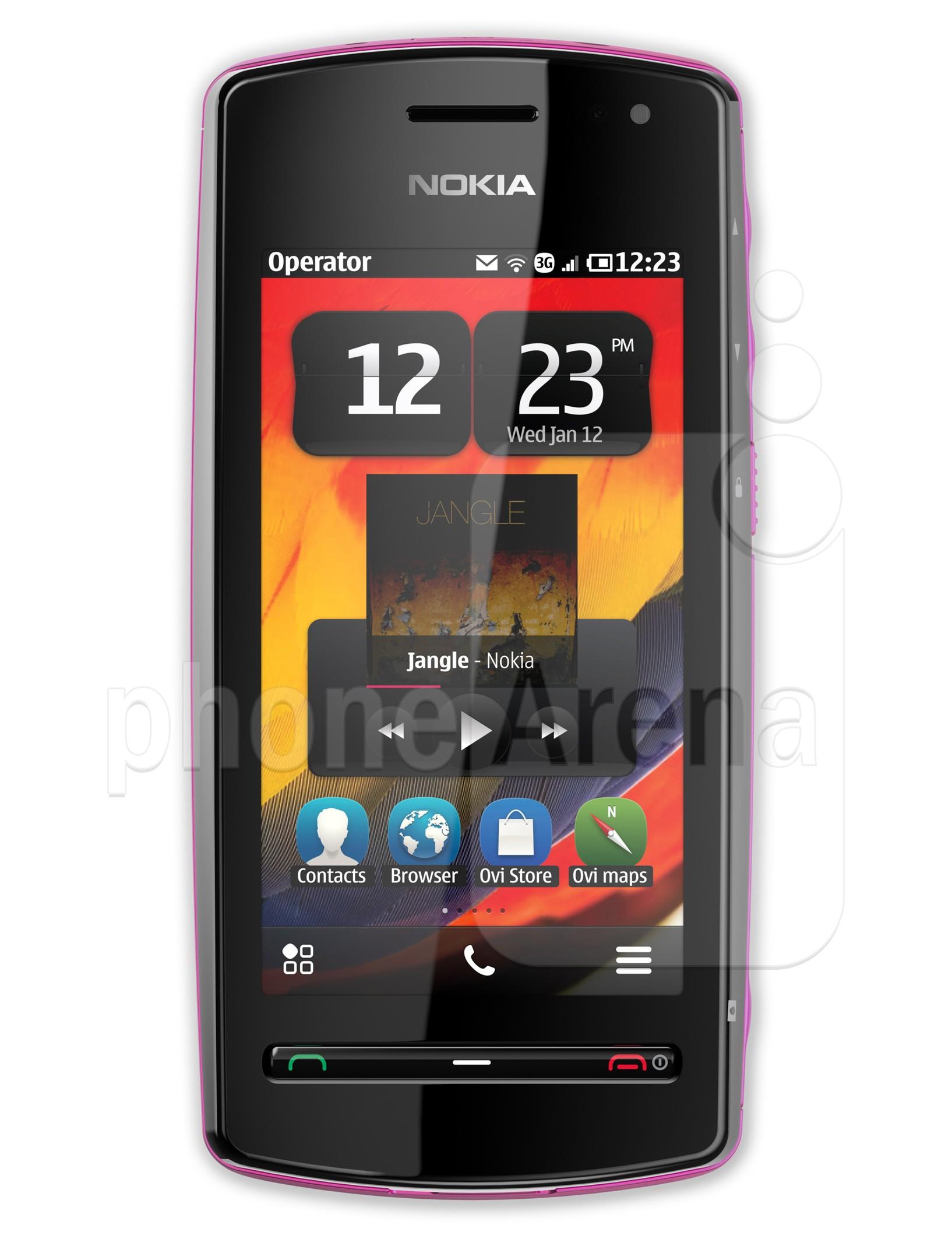 Nokia 600 specs