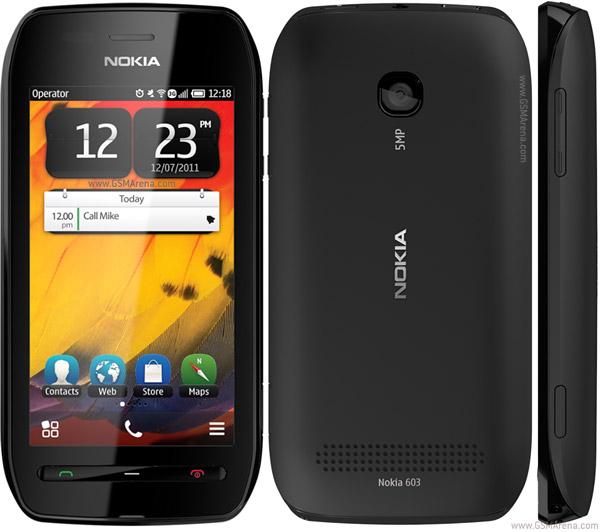 Nokia 603 pictures  official photos