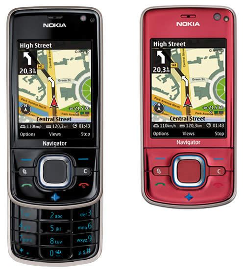 A Different Mobile Phone by Nokia  Nokia 6210 Navigator   Atakos