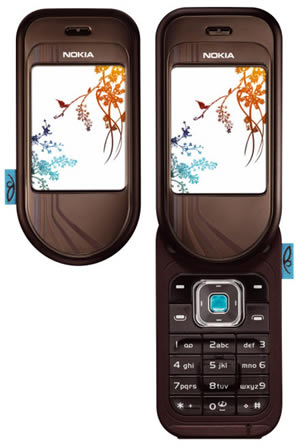 Nokia 7370 phone photo gallery  official photos