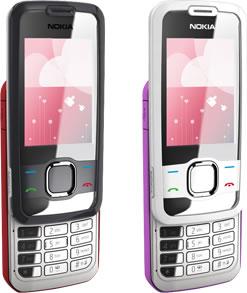 Nokia 7610 Supernova gets visualized