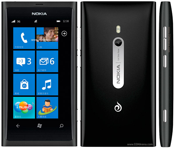 Nokia 800c pictures  official photos