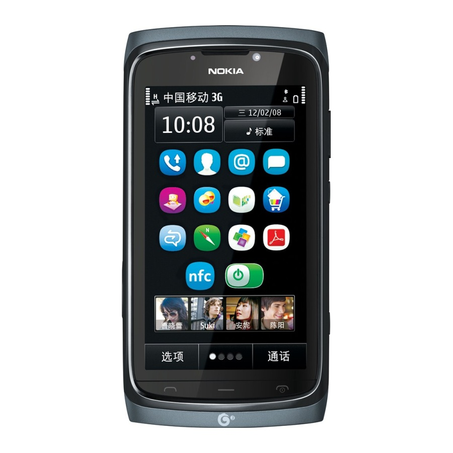 Nokia 801T   Nokia 801T Lands in China with Symbian  TD SCDMA
