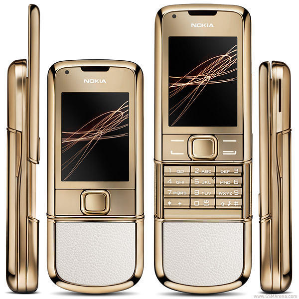 Nokia 8800 Gold Arte pictures  official photos