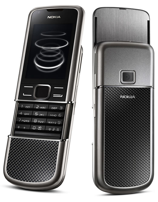 Nokia Introduces Nokia 8800 Carbon Arte