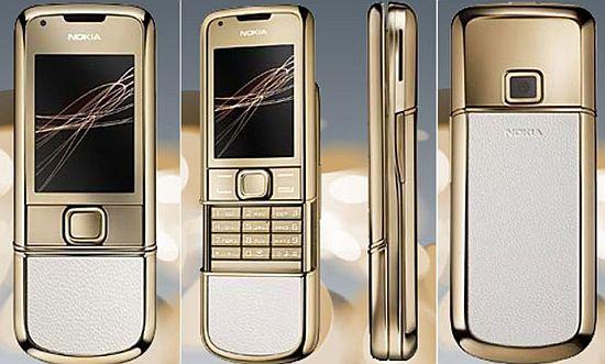Nokia 8800 Gold Arte   LUXUO Luxury Blog