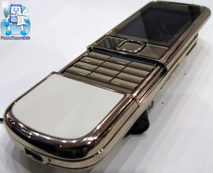 Review  Nokia 8800 Gold Arte   PhoneRPT com   PhoneRPT