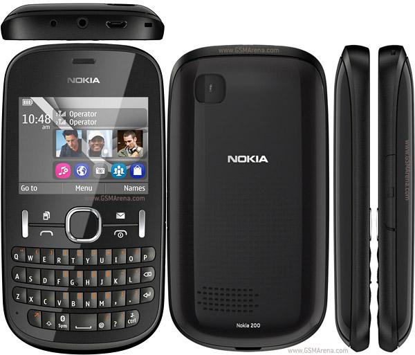 Nokia Asha 200 pictures  official photos