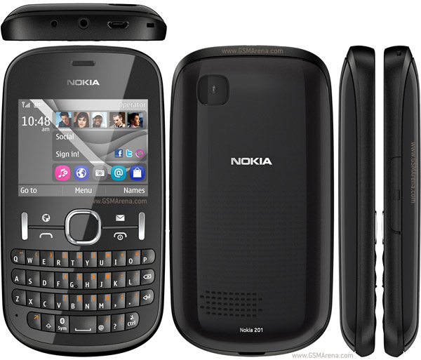 Nokia Asha 201 pictures  official photos