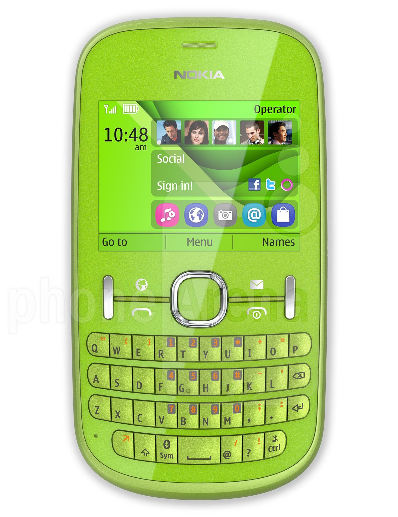 Nokia Asha 201 specs
